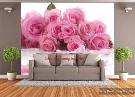 Giấy dán tường hoa hồng H109