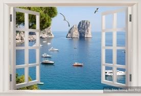 Giấy dán tường phong cảnh biển S053