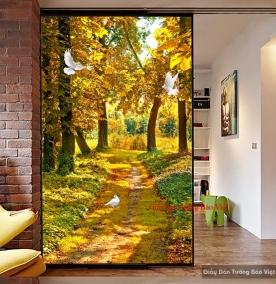 Giấy dán tường phong cảnh đẹp Tr163