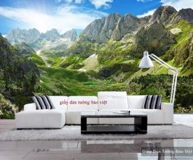 Giấy dán tường phong cảnh đẹp giá rẻ Fm161