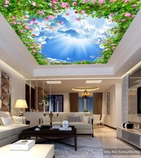 Giấy dán tường trần nhà C021