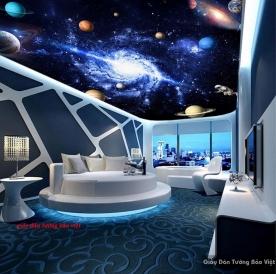 Giấy dán trần nhà galaxy c127