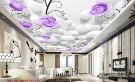 Giấy dán trần nhà 3D C090