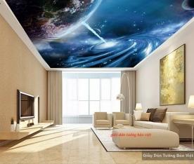 Giấy dán tường 3d galaxy c125