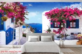 Giấy dán tường phòng ngủ 3d fm427