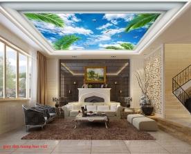 Giấy dán tường dán trần nhà c180