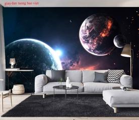 Giấy dán tường galaxy c177