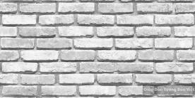 Giấy dán tường giả gạch màu xám 8267-2