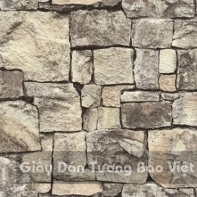 Giấy Dán Tường giả gạch đá 85016-1