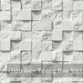 Giấy Dán Tường giả gạch đá 85019-1