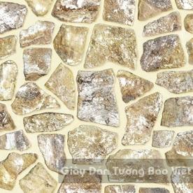Giấy Dán Tường giả gạch đá 85043-1