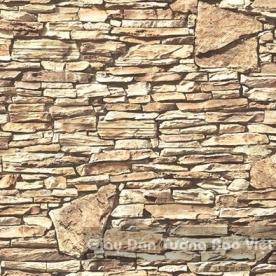 Giấy Dán Tường giả gạch đá 85046-1