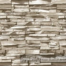 Giấy Dán Tường giả gạch đá 85048-1