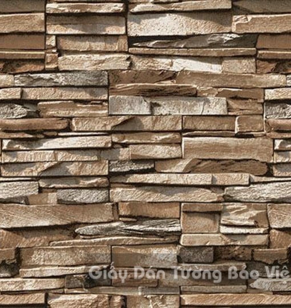 Giấy Dán Tường giả gạch đá 85048-3
