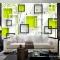 Giấy dán tường phòng khách 3D-060