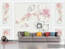 Giấy dán tường phòng khách 3d-142