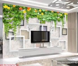 Giấy dán tường phòng ngủ 3D-118