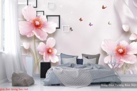 Giấy dán tường phòng ngủ 3d FL136