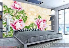 Giấy dán tường phòng ngủ 3d FL143