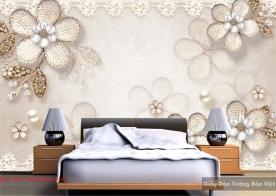 Giấy dán tường phòng ngủ 3d fl152