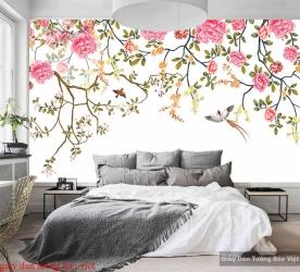 Giấy dán tường phòng ngủ H215