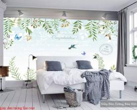Giấy dán tường phòng ngủ H219
