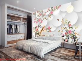 Giấy dán tường phòng ngủ đẹp fl127