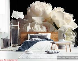 Giấy dán tường phòng ngủ h214