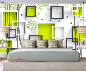Giấy dán tường phòng ngủ 3d-162