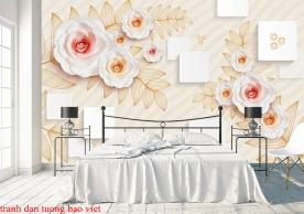 Giấy dán tường phòng ngủ fl190