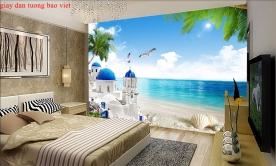 Giấy dán tường phòng ngủ đẹp s239