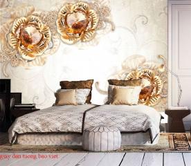 Giấy dán tường phòng ngủ fl165