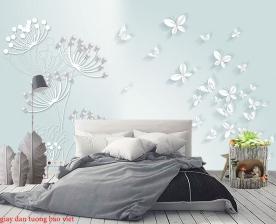 Giấy dán tường phòng ngủ h239