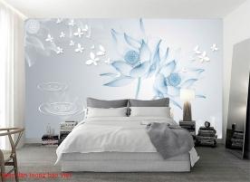 Giấy dán tường phòng ngủ h251