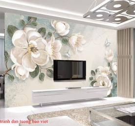 Giấy dán tường phòng ngủ h258