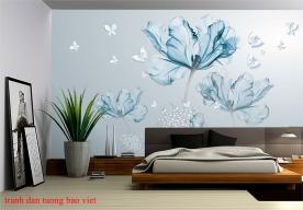 Giấy dán tường phòng ngủ h260