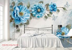 Giấy dán tường phòng ngủ h261