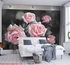 Giấy dán tường phòng ngủ h269