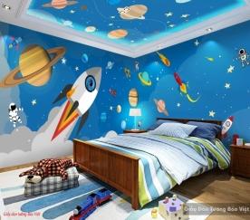 Giấy dán tường 3d phòng trẻ em v210