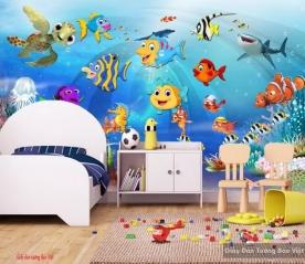 Giấy dán tường cho phòng trẻ em v126