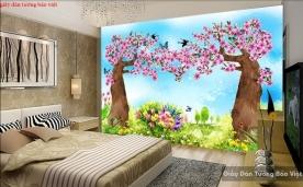 Giấy dán tường trẻ em đẹp kid148