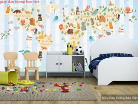 Giấy dán tường trẻ em kid159