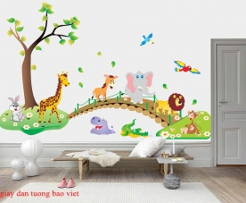 Giấy dán tường trẻ em kid211