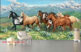 3d wall paintings hr026