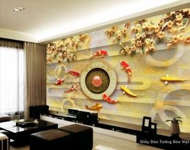 Decal dán tường & kính 3D FL003