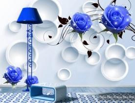 Decal dán tường & kính 3D FL007