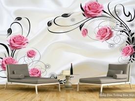 3D glass & wall decal FL013