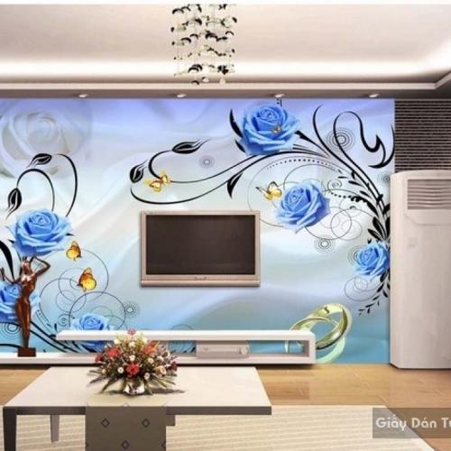 Decal dán tường & kính 3D FL015