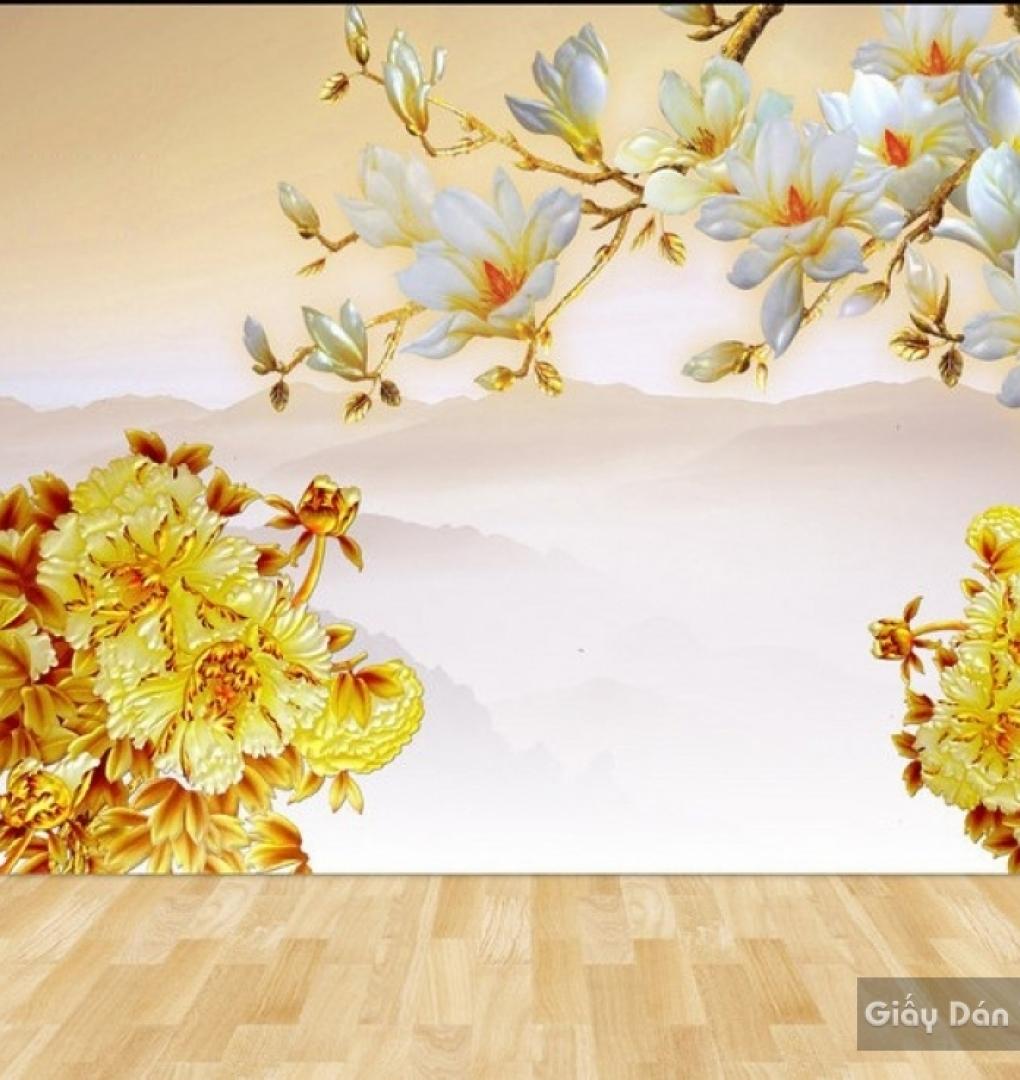 Decal dán tường & kính 3D FL016