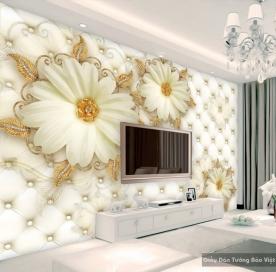 3D glass & wall decal FL017